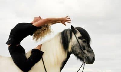 The Surprising Secret Behind Horse Yoga - Horseback Yoga Pose