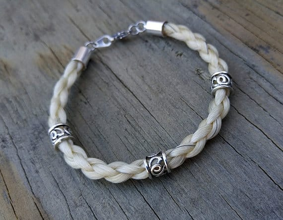 10 Pieces Of Horse Hair Jewelry That We Love Horsey Hooves