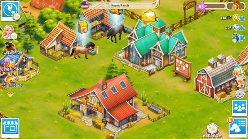 Virtual Horse Games: Horse Haven World Adventures