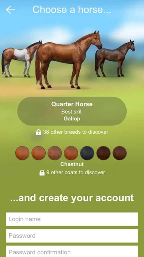 Virtual Horse Games: Howrse App