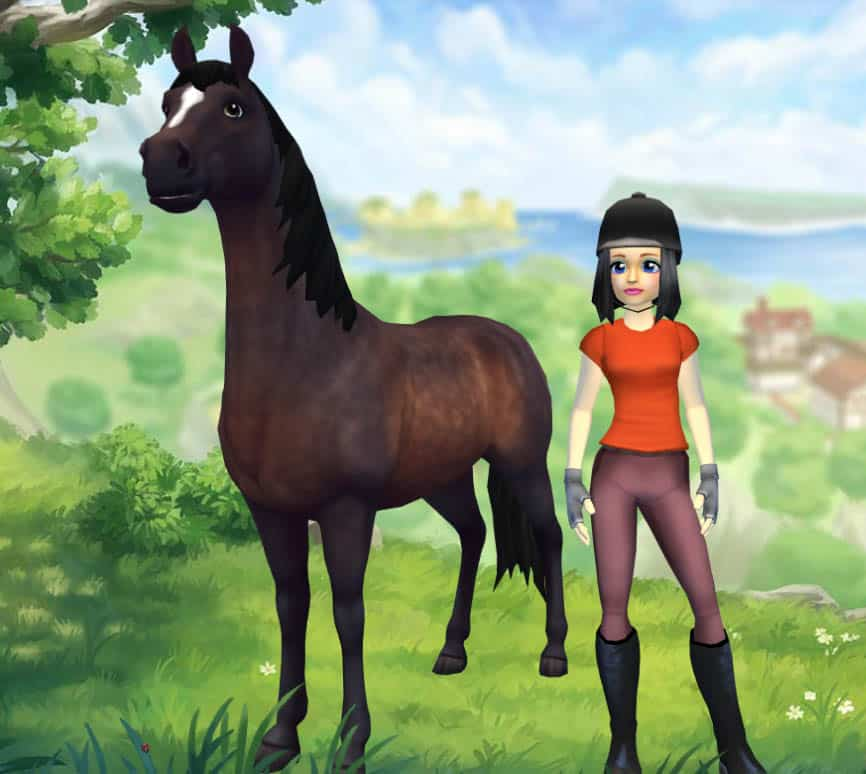 Virtual Horse Games: Star Stables Create A Character