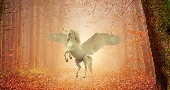 Pegasus. Mythical winged horse owned by Zeus