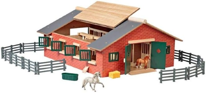 Breyer Stablemates Deluxe Horse Stable Set