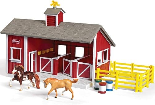 Breyer Stable and Horse toy set for kids