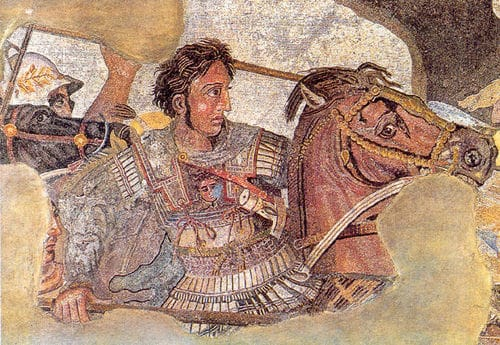 Bucephalus, the mythical horse of Alexander the Great