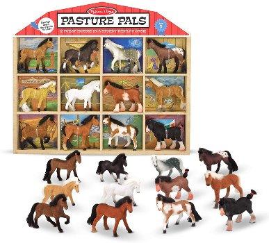 Horse figures set