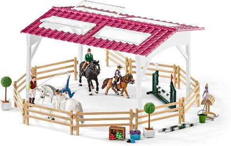 Riding school and ménage toy set
