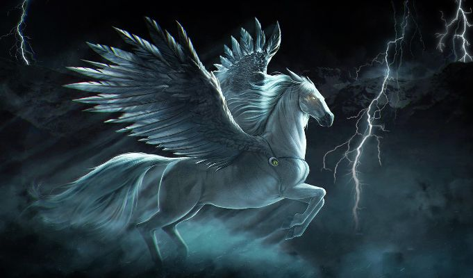 Tulpar mythical horse
