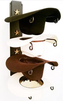 Cowboy hat stand