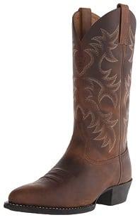 Ariat Men's Heritage R Toe Western Boot