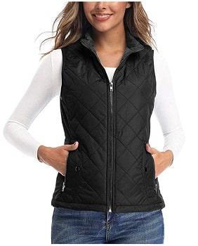 Art3d Padded Lightweight Vest for Women