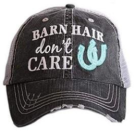 Funny baseball cap for horse loving girls - horse gifts
