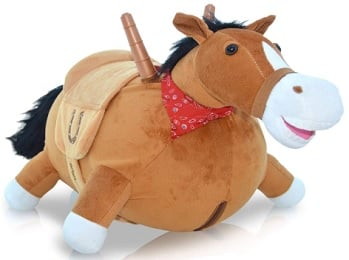 Bouncy horse for toddlers