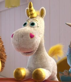 Buttercup, the unicorn from Toy Story