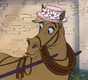 Frou Frou, Disney horse