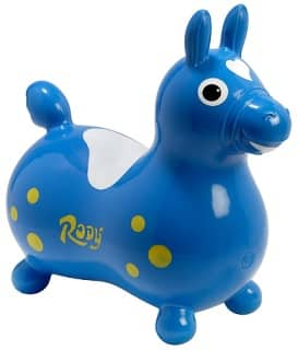 Blue Gymnic Rody bouncy horse toy for toddlers