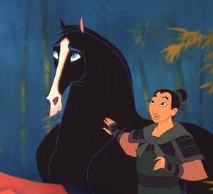 Khan, Disney horse from Mulan