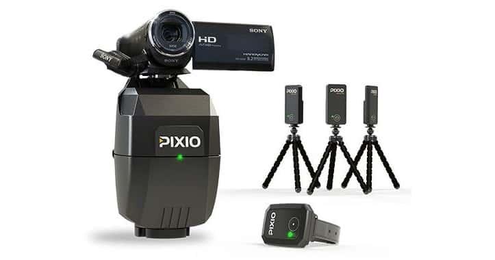 Pixio and Pixem auto-follow cameras