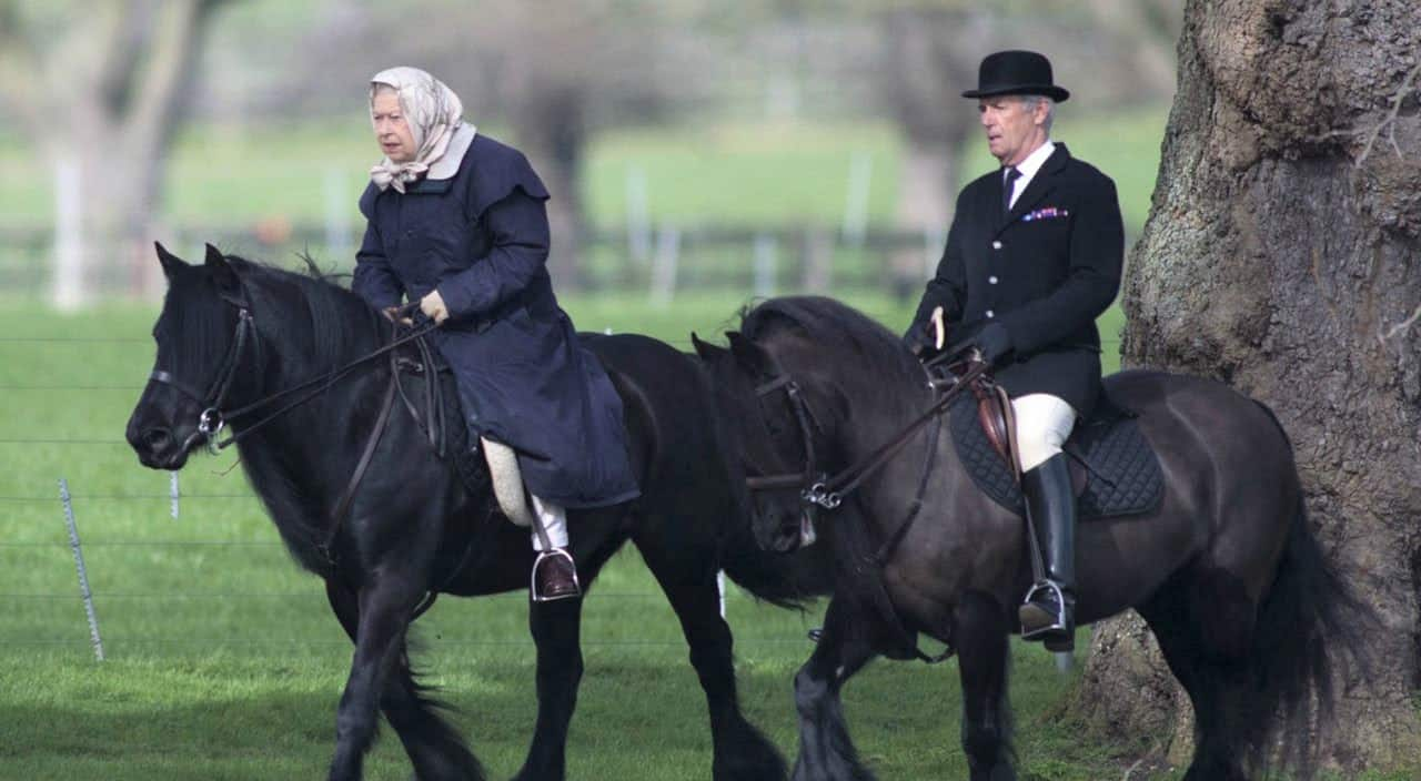 Queen of England horse riding at age 94 after lockdown