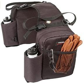 Nylon horse western saddle bag