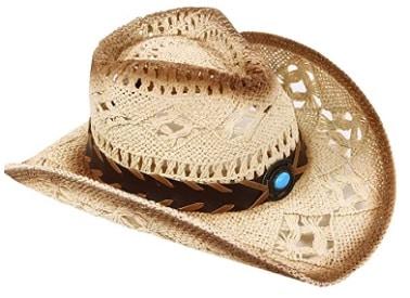 Women's Woven Straw Cowboy Hat