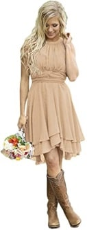 Andybridal Women's Country Dress