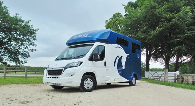 Horsebox available for hire