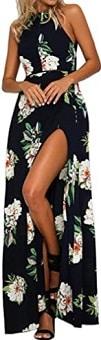 Zesica Women's Halter Neck Dress