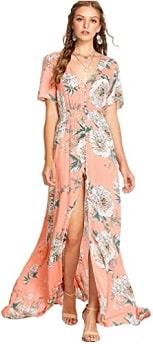 Milumia Women Split Maxi Dress