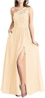Molisa Women's One Shoulder Long Evening Dress
