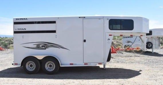 Titan horse trailer