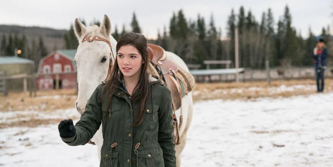 Actor Alisha Newton, Georgie Fleming Morris from Heartland TV Series