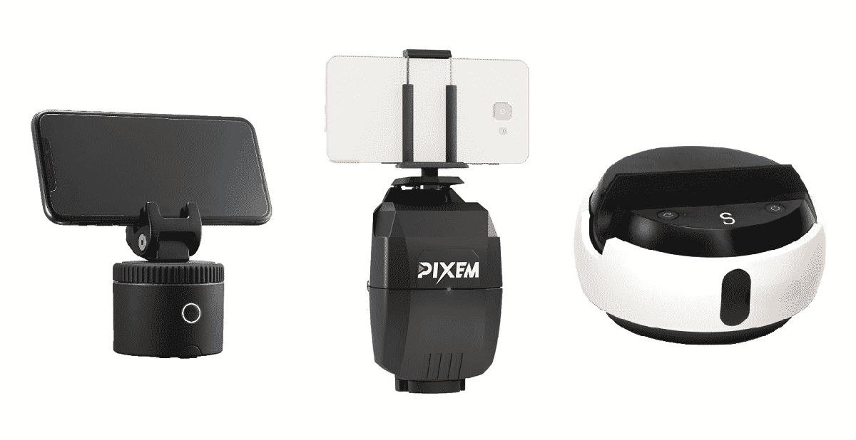 Best auto follow robotic camera mounts: Pixem, Pivo, and Swivl C3
