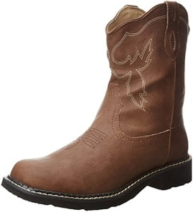 Pull-on vegan boots for the barn