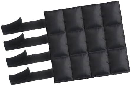 Black ice cooling pack for injured horses