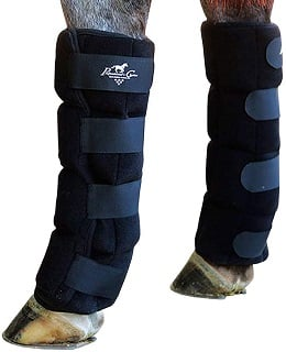 Professional's Choice Ice Boot on a horse's legs