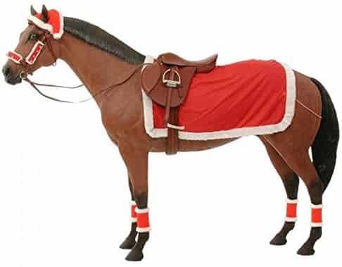 Santa horse outfit