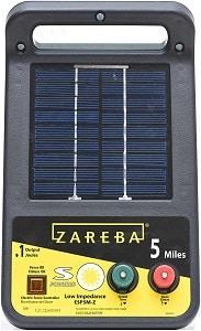 Zareba ESP5M portable solar fence energiser