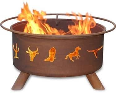 Cowboy fire pit gift idea