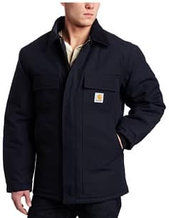 Black quilted jacket for a western cowboy man gift