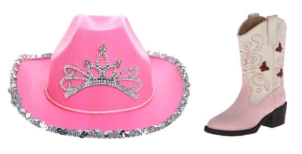 Pink horse riding hat and boots play set gift idea for girls