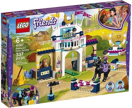 LEGO horse jumping set for girls who love horses