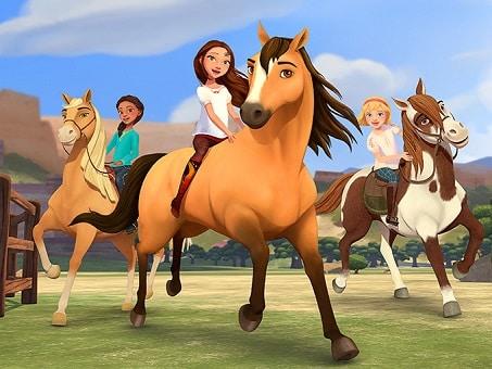 Spirit Riding Free horse TV cartoon for kids