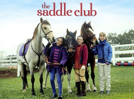The Saddle Club TV series for horse lovers girls and boys