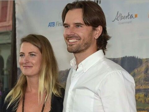 Graham Wardle and his wife