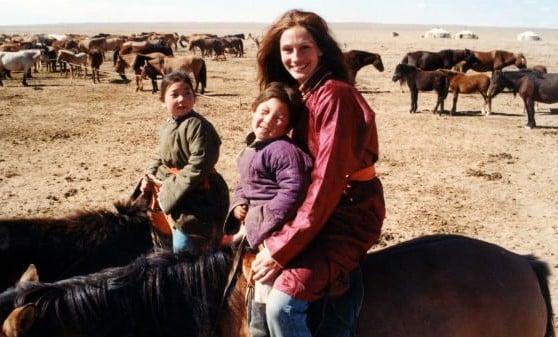 Julia Roberts horseback riding