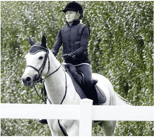 Celebrity Madonna horseback riding