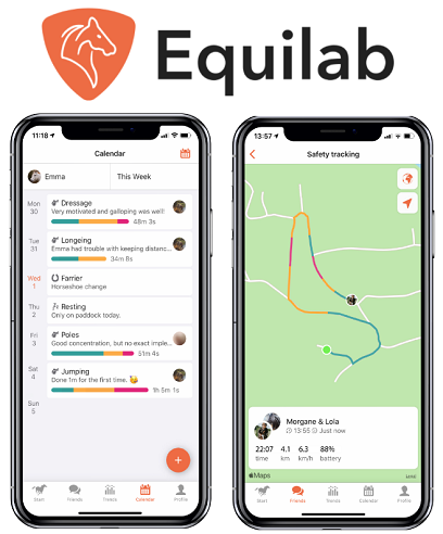 Equilab horse riding and equestrian app