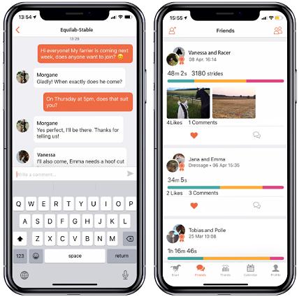 Equilab app screenshots