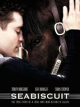 Seabiscuit horse racing movie cover